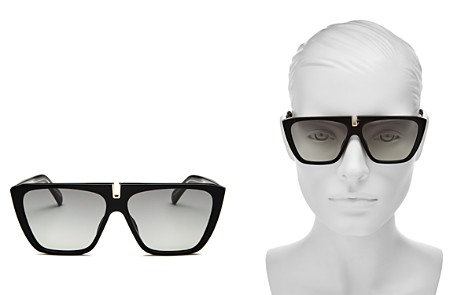 Givenchy Women's Flat Top Square Sunglasses, 58mm - Bloomingdale's_2