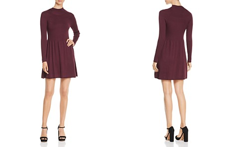 Vero Moda Mock-Neck Sweater Dress - Bloomingdale's_2