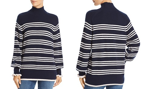 Rebecca Taylor Striped Merino-Wool Sweater - Bloomingdale's_2