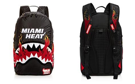 Sprayground Boys' Miami Heat Flames & Shark Backpack - Bloomingdale's_2