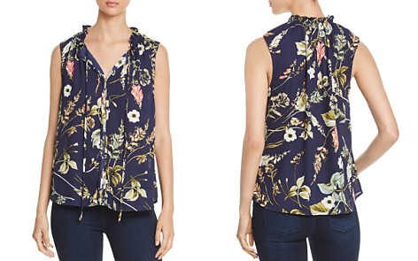 B Collection by Bobeau Dahlia Sleeveless Floral-Print Top - Bloomingdale's_2