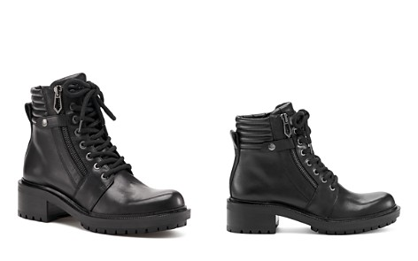Botkier Women's Moto Leather Lace Up Booties - Bloomingdale's_2