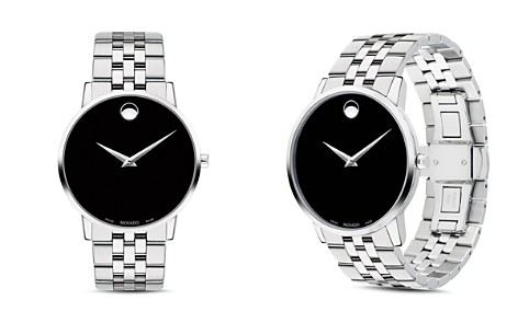 Movado Museum Classic Stainless Steel Watch, 40mm - Bloomingdale's_2