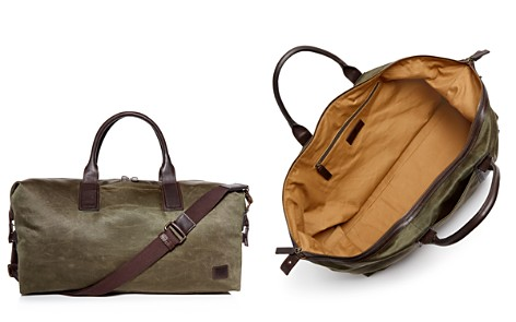 Frye Carter Waxed Canvas Weekender Duffel - Bloomingdale's_2