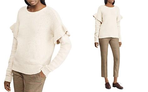 Lauren Ralph Lauren Ruffle-Sleeve Sweater - Bloomingdale's_2