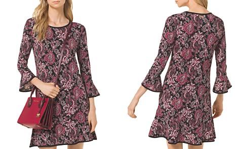 MICHAEL Michael Kors Paisley Print Flounce Dress - Bloomingdale's_2