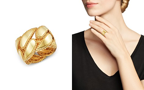 Roberto Coin 18K Yellow Gold Gourmette Ring - Bloomingdale's_2