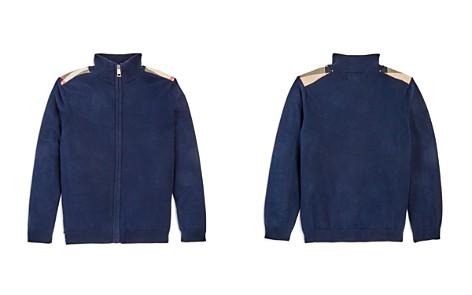 Burberry Boys' Aldo Front Zip Sweater - Little Kid - Bloomingdale's_2