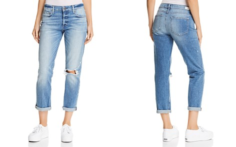 PAIGE Brigitte Boyfriend Jeans in Brookview Destructed - Bloomingdale's_2