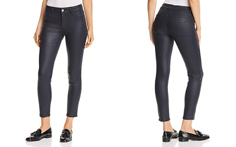 DL1961 Florence Instasculpt Coated Ankle Skinny Jeans in Marin - Bloomingdale's_2