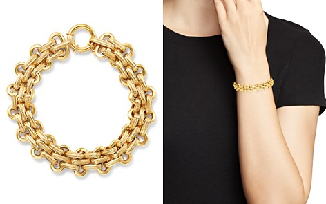 Bloomingdale's Link Bracelet in 14K Yellow Gold - 100% Exclusive_2