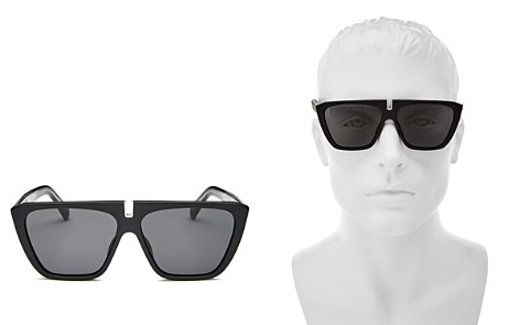 Givenchy Men's Flat Top Square Sunglasses, 58mm - Bloomingdale's_2