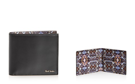 Paul Smith Kaleidoscope Print Leather Bi-Fold Wallet - Bloomingdale's_2