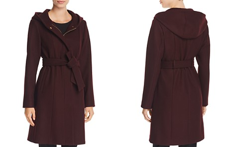 VINCE CAMUTO Hooded Belted Wrap Coat - Bloomingdale's_2