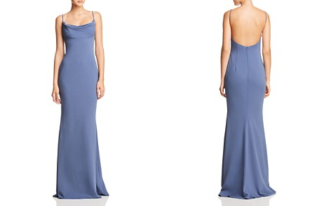 Katie May Lola Cowl-Neck Gown - 100% Exclusive - Bloomingdale's_2