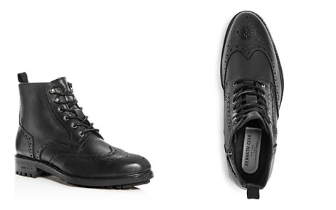 Kenneth Cole Men's Maraq Leather Wingtip Boots - Bloomingdale's_2