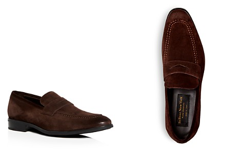 To Boot New York Men's Raleigh Suede Penny Loafers - Bloomingdale's_2
