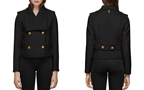 Mackage Double-Breasted Button Front Coat - Bloomingdale's_2