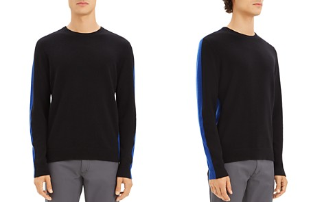 Theory Evers Color-Block Cashmere Sweater - Bloomingdale's_2