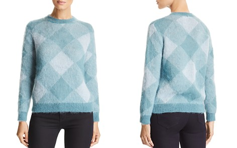 Emporio Armani Tonal Plaid Sweater - Bloomingdale's_2