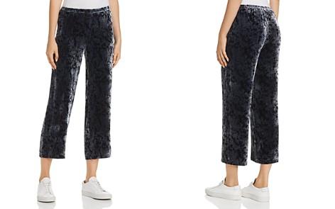 Eileen Fisher Splatter-Print Velvet Cropped Pants - 100% Exclusive - Bloomingdale's_2