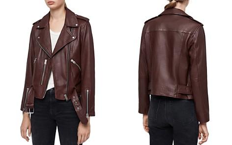 ALLSAINTS Balfern Leather Biker Jacket - Bloomingdale's_2