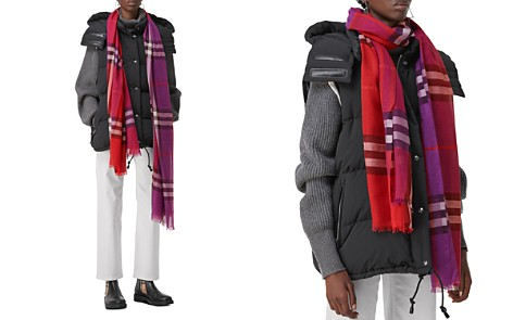 Burberry Color-Block Check Scarf - Bloomingdale's_2