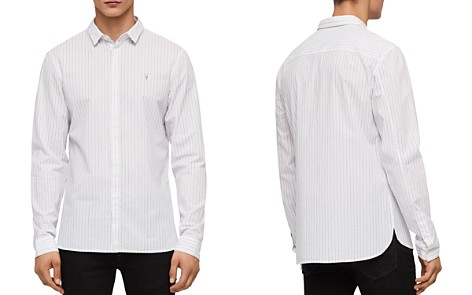 ALLSAINTS Austin Slim Fit Striped Button-Down Shirt - Bloomingdale's_2