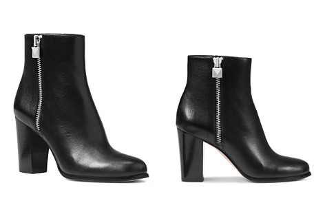 MICHAEL Michael Kors Women's Margaret Leather High Heel Booties - Bloomingdale's_2