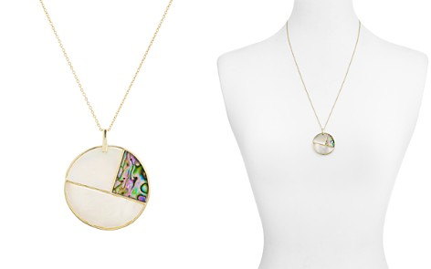 "Argento Vivo Mother-of-Pearl Mosaic Pendant Necklace in 18K Gold-Plated Sterling Silver, 23"" - Bloomingdale's_2"