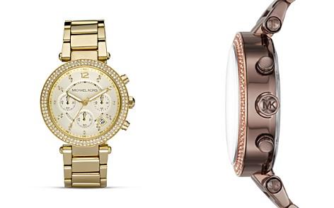 Michael Kors Pavé Parker Watch, 39mm - Bloomingdale's_2