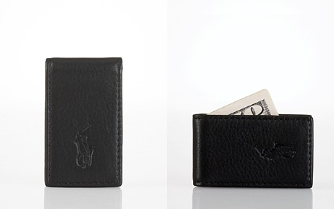 Polo Ralph Lauren Pebbled Leather Money Clip - Bloomingdale's_2