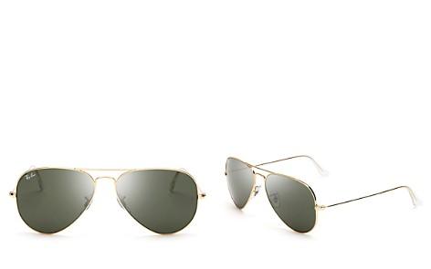 Ray-Ban Classic Aviator Sunglasses, 58mm - Bloomingdale's_2