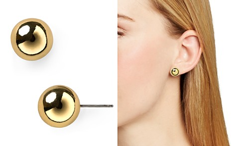Lauren Ralph Ball Stud Earrings 12mm Bloomingdale S 2