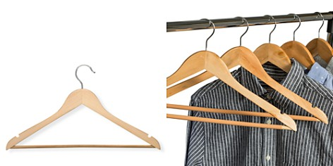 Honey Can Do Wood Nonslip Maple-Finish Hangers, Set of 24 - Bloomingdale's Registry_2