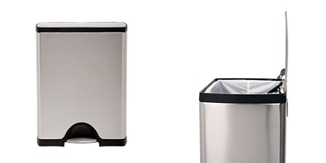 simplehuman 50-Liter Rectangular Step Garbage Can - Bloomingdale's Registry_2