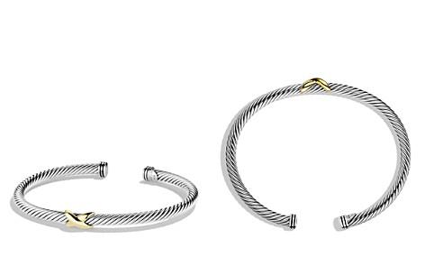 David Yurman X Bracelet with Gold - Bloomingdale's_2