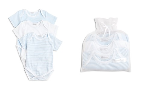 Kissy Kissy Boys' Stripe & Solid Bodysuit, 3 Pack - Baby - Bloomingdale's_2