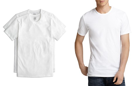 Calvin Klein Cotton Stretch Crew Neck Tee, Pack of 2 - Bloomingdale's_2