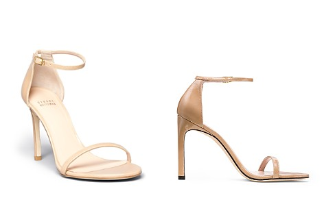 Stuart Weitzman Women's Nudistsong Patent Leather High-Heel Sandals - Bloomingdale's_2