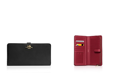 COACH Madison Skinny Wallet in Leather - Bloomingdale's_2