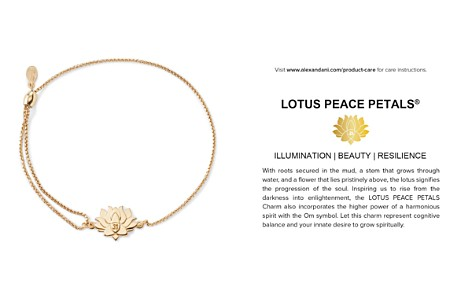 Alex and Ani Precious Metals Symbolic Lotus Peace Petals Pull Chain Bracelet - Bloomingdale's_2