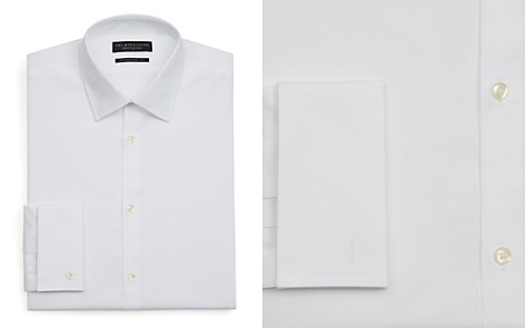 The Men's Store at Bloomingdale's White Textured Dress Shirt - Regular Fit - 100% Exclusive_2