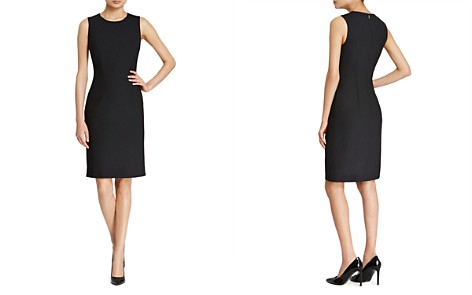 BOSS Dirusa Stretch Wool Sheath - Bloomingdale's_2