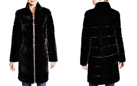 Maximilian Sheared Rabbit Coat - 100% Exclusive - Bloomingdale's_2