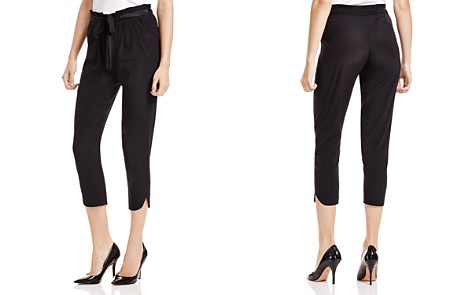 Ramy Brook Allyn Stretch Silk Cropped Pants - Bloomingdale's_2