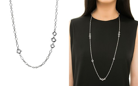 """John Hardy Naga Sterling Silver Figaro Chain Necklace with Figurative Clasp, 36"""" - Bloomingdale's_2"""