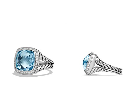 David Yurman Albion Ring with Blue Topaz and Diamonds - Bloomingdale's_2