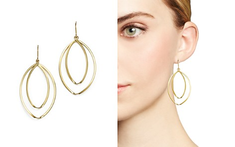14K Yellow Gold Double Twist Drop Earrings - 100% Exclusive - Bloomingdale's_2