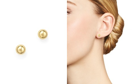 14K Yellow Gold Small Ball Stud Earrings - 100% Exclusive - Bloomingdale's_2